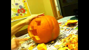 Minecraft Pumpkin Carving Patterns by Minecraft Timelapse Pumpkin Carving Youtube