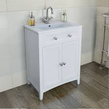 Shabby Chic Bathroom Vanity Unit by Camberley White 600 Door Unit U0026 Basin Http Www Victoriaplumb