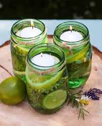 Citronella Oil Lamps Diy by Lemon And Lime Citronella Essential Oil Candles