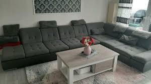 sofa wohnzimmer wohnlandschaft sofa antrazit