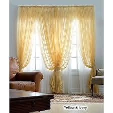 Boscovs Lace Curtains by Roma Ii Voile Sheer Rod Pocket Panel Boscov U0027s