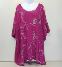 Maggie Barnes 5X Shirt Top Blouse Pink Floral Embroidery Bling NWT ... Maggie Barnes Womens Blouse Black Purple Beaded Semi Sheer Plus Size Boatneck Maxi Bright Pink Unlined Wrinkle Fabric Floor Top 4x Mosaic Sparkly Bling Stretch 1x Lined Brown 34 Sleeve Career Right Fit Pant Curvy Catherines Poncho By 3x 26w 28w Cditioning Customer Support Dress Red Purple Jacket Blazer Appliques Button Down 7443 Best My Posh Picks Images On Pinterest Pockets Sweaters