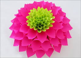 Art Craft Paper Flower Diy