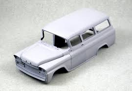 Cliff Read's 1/25-scale 1958 Chevrolet Suburban With | Hemmings Daily Resin Model Kits Yarmouth Works Aussie K200 Truck Kit 124 An Trucks Koda 706 Rts 1 Model Kits 143 Scale Mac 125 Trucks And Three Scratch Built Trailers On The Amazoncom Planet Models 172 German Bussing 4500a Truck Kit Mack E7 Etech Engine Nissan Dakar Rally Auto Magazine For Building Model Trucks Mercedes Benz Actros Mp3 Resin Cversion Kit Fireball Modelworks Builder Com Molinum Parts