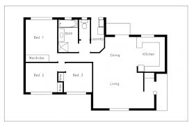 Single Family House With Patio 2D DWG Plan For AutoCAD Designs CAD