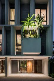 100 Contemporary Townhouse Design Modern Cantilevered Planter Ideas Interior