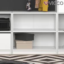 vicco kleiderschrank kommode klein visit zweigeteilt sideboard regal schlafzimmer umkleide
