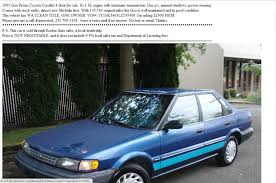100 Seattle Craigslist Cars Trucks By Owner Gold SCREENSHOT YOUR ADS The Something Awful Forums