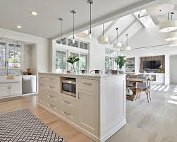 Epic Open Concept Kitchen And Living Room In Small Home Remodel Ideas With