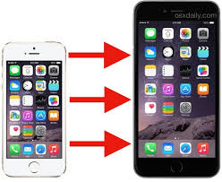 Migrate your old iPhone to new iPhone 6