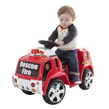Ride On Toy, Fire Truck For Kids, Battery Powered Ride On Toy By Hey ...