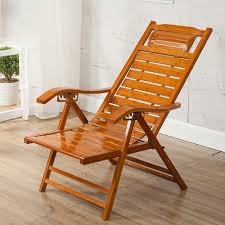 Amazon.com : Rocking Chairs MEIDUO Adjustable Chaise Bamboo ...