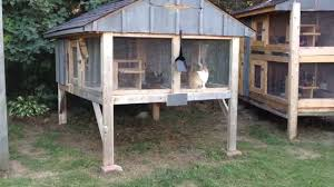 Ana White Shed Chicken Coop by How To Build A Rabbit Hutch Update Youtube