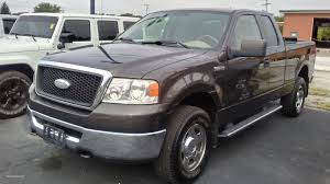 100 2007 Ford Truck 2006 Ford F150 Pickup 2wd Ffv Automatic 4speed Shot Used Ford