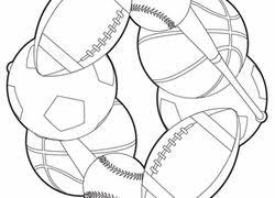 Worksheet Color A Sports Mandala
