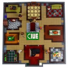 Ian Spaceks Lego Clue Cluedo Boardgame