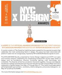 Lladro Is The ficial Awards Sponsor For The First Annual NYC X