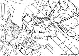 Barbie And The Three Musketeers Wallpaper Entitled 3Ms Coloring Page