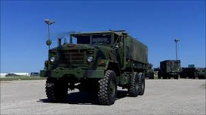 100 Army 5 Ton Truck M923A2 6x6 Military Cargo C200107 YouTube