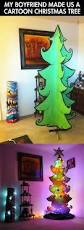 4ft Christmas Tree With Lights by Cartoon Christmas Tree U2026 Christmas Tree Lights And Cartoon