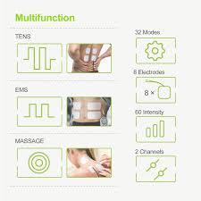 AUVON 32 Modes TENS Unit Muscle Stimulator (TENS+EMS+Massage), TENS Machine  With 11 TENS Modes For Pain Relief, 11 EMS Modes For Muscle Management, 10  ...