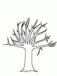 Tree Trunk Coloring Page Home With To Inspire In Images