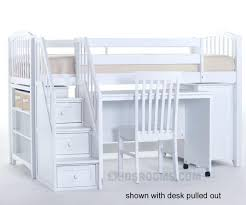 Low Loft Bed With Desk And Dresser by Loft Beds White Low Loft Bed 6 Beds With Desk And Storage White