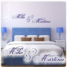 namen schlafzimmer wandtattoo wandaufkleber w1326