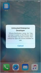 Install custom enterprise apps on iOS Apple Support