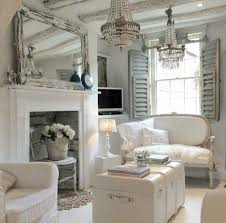 Beautiful Romantic White Living Room Pinned From Vintage On Instagram
