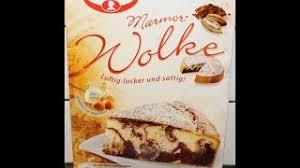 from germany dr oetker marmor wolke preparation
