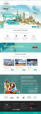 This Is A Template For Travel Agency And Tourism Companies That Are Looking Website To Show Their Services Customers