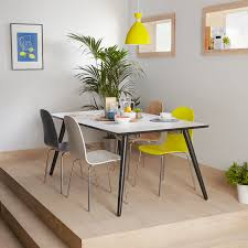 Dining Tables 8 Seater Table Set 9 Piece White Board Of Wooden