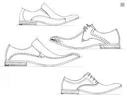 Men Dress Shoes More Coloring Pages