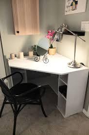 L Shaped Computer Desk Ikea by Corner Computer Desk With Hutch Ikea Best Home Furniture Design