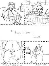 Luke 15 Three Parables Prodigal Son Coloring Pages