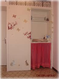 deco porte chambre décoration porte placard chambre bébé chicoulascrap