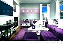 Living Room Gray Decoration Purple And Grey Rooms Decor Ideas Decorating