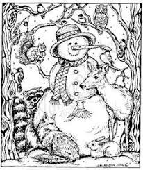 Gallery For Website Free Christmas Coloring Pages Adults