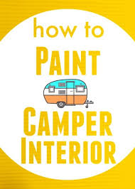 Tips For Painting The Walls Of Your RV