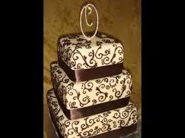 Square Chocolate Cake Decoration