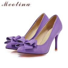 Meotina Latest Shoes Women Pumps Spring Pointed Toe Basic Party Thin