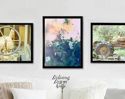 Farmhouse Wall Set Fixer Upper Gallery Rustic Poster Of Prints