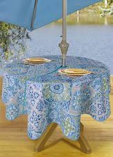 Round Patio Tablecloth With Umbrella Hole by Tablecloth Umbrella Hole Ebay