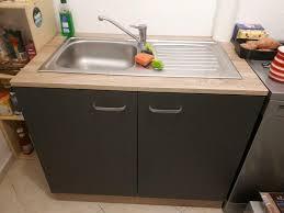 küchenmöbel spülschrank anrichte v roller anthrazit sonoma