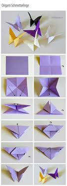 How To DIY Origami Butterfly Paint Watercolor One Side Of Paper Text Writen Collage On Other Take Photos Both Before Folding