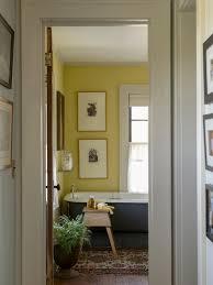 Yellow And Gray Bathroom Wall Art by Bathroom Farmhouse Trend Bathroom In Yellow And Gray Fashionable