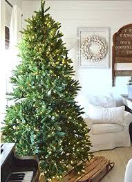 Noble Fir Artificial Tree 4 Ft Lit Pine Unlit Christmas Trees 75ft
