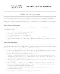 Personal Statement Examples For Resume Summary Profile Example