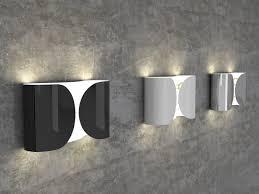 fz211 flos foglio wall light in chrome designed tobia scarpa